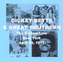 dickey betts great southern 04 19 1977. Black Bedroom Furniture Sets. Home Design Ideas
