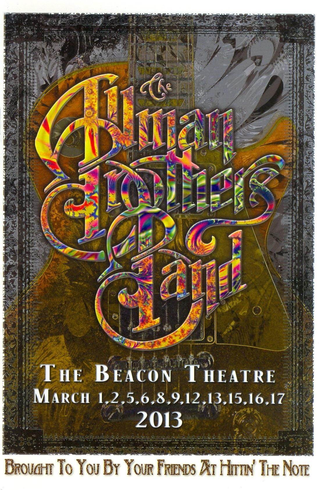 Gov/'t Mule 2012 Beacon Theatre Crossbody Bag